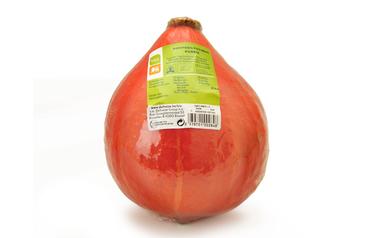 Bio     Delhaize     Verpakte oranje pompoen   Bio