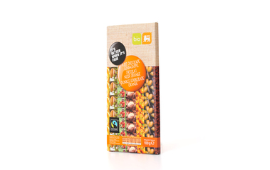 Bio     Delhaize     Chocolade | Puur | Sinaas | Bio | Fairtrade