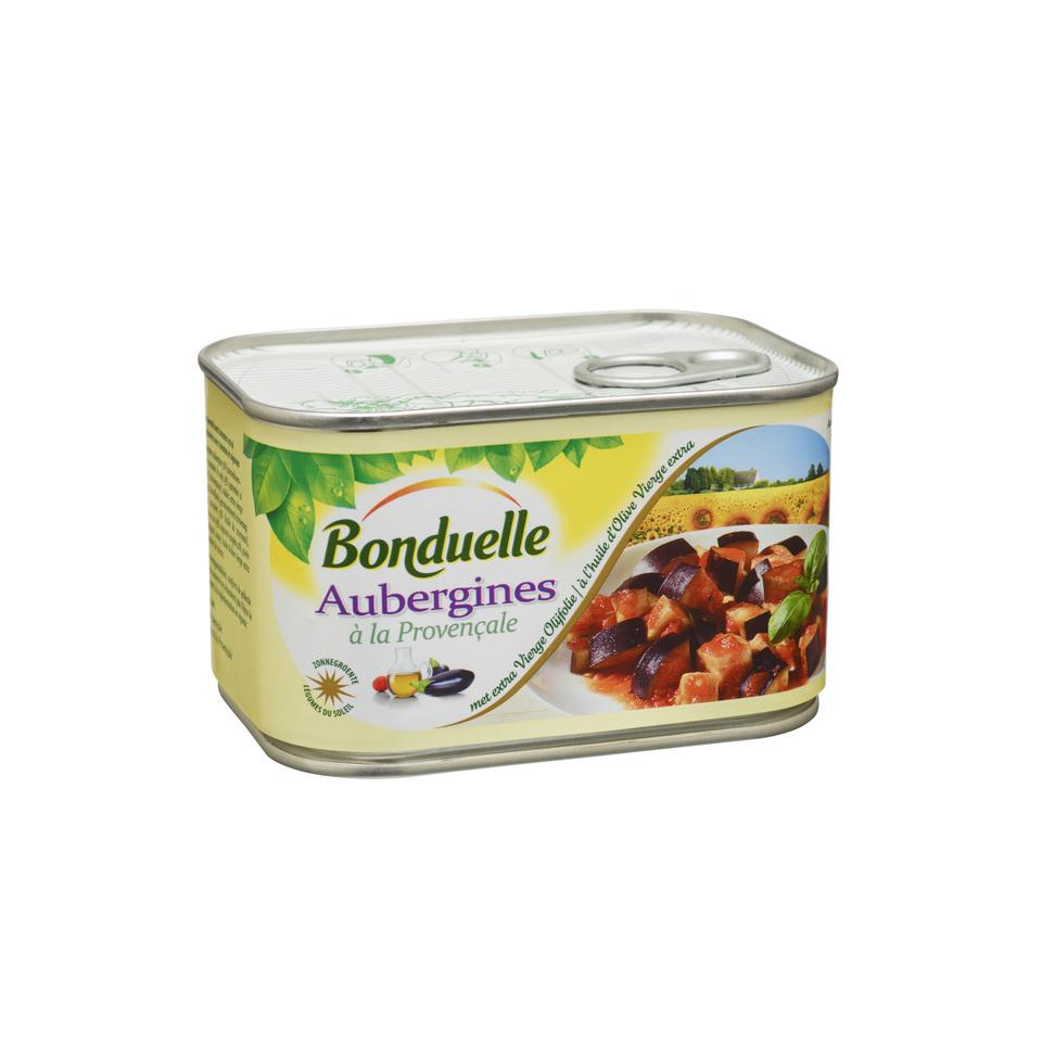 Bonduelle aubergines a la proven ale for Aubergines en conserve maison