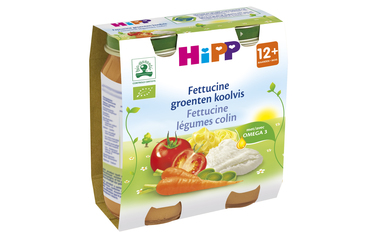 Hipp          Fettucine-Groenten-Koolvis | Bio | 12M