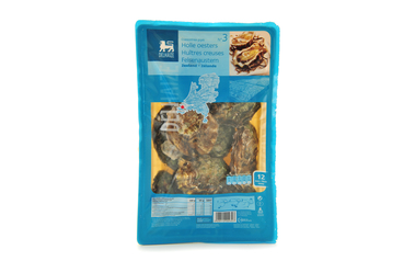 Delhaize            12 Holle oesters | Zeeland | N°3