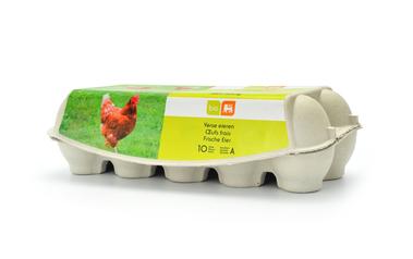 Bio     Delhaize     Eieren   Van verschillende grootte   Bio