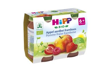 Hipp          Appel-Aardbei-Framboos | Bio | 6M