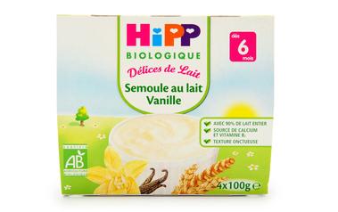 Griesmeel vanille | Bio