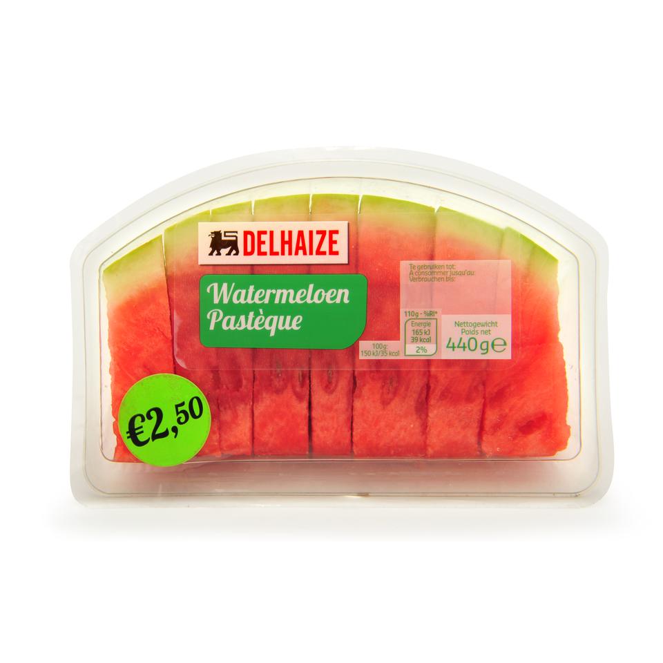 Watermeloen stukken - Stukken outs ...