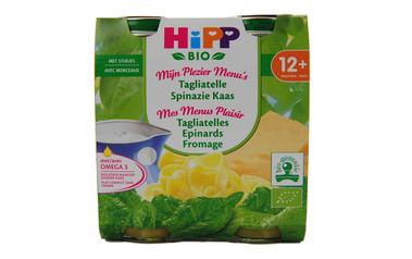 Hipp          Tagliatelles-Spinazie-Kaas | Bio | 12M