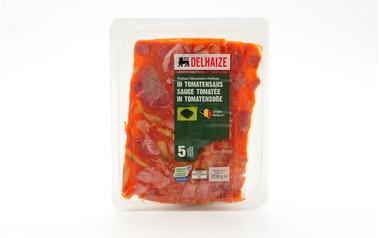 Delhaize          Kop | Tomatensaus | Sneden