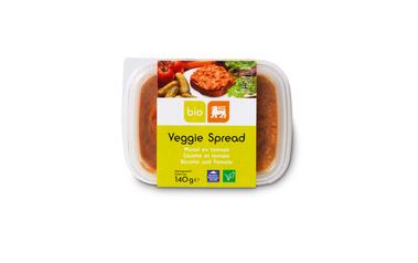 BIO     DELHAIZE     Veggie spread | Wortel-Tomaat | Bio