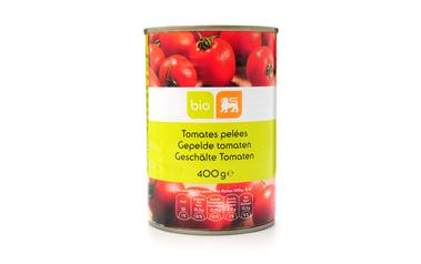 Bio     Delhaize     Tomaten | Gepeld | Bio
