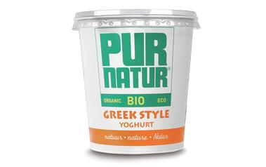 Yoghurt   Natuur   Greek style  Bio