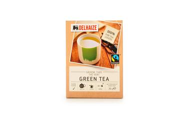 Thee | Groen | Zakjes | Bio | Fairtrade