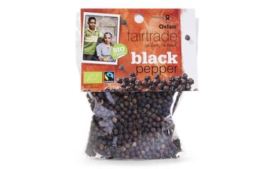 Oxfam     Bio     Peper   Bollen   Zwart   Bio   Fairtrade