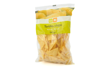 Bio      Delhaize      Tortilla chips | Naturel | Bio
