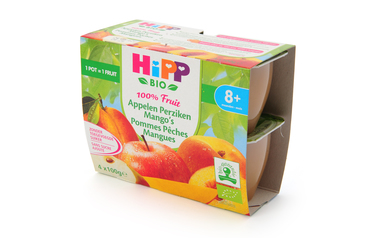 Hipp          Appelen-Perziken-Mango's | Bio | 8M