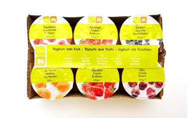 Bio     Delhaize     Yoghurt | Vruchtenmengeling | Bio