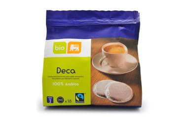 Bio     Delhaize     Koffie | Cafeïnevrij | Pads | Bio | Fairtrade
