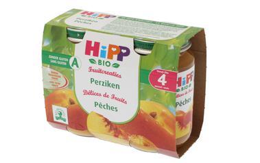 Hipp          Kompot | Perzikken | Bio | 4M